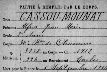 Cassou-Mounat Alfred