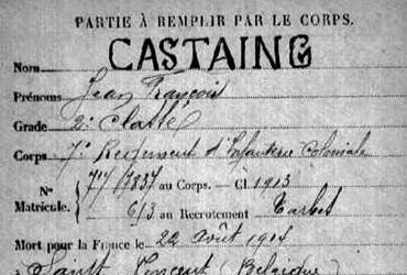 Castaing Jean-François