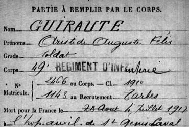 Guiraute Aristide