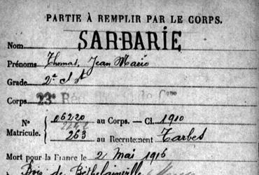 Sarbarie Thomas M