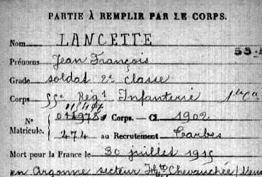 Lancette Jean-Fran�ois
